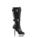 Demonia MUE2028/BPU/PWCH Drag Boots by Pleaser, available to buy at The Drag Room