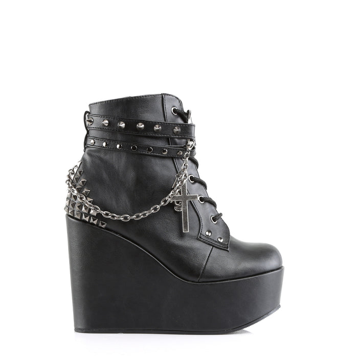 Demonia POI101/BVL Drag Boots by Pleaser, available to buy at The Drag Room