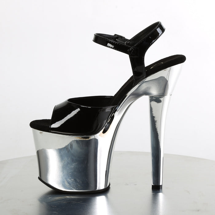 Pleaser RAD709/B/SCH Drag Platform Shoes by Pleaser, available to buy at The Drag Room
