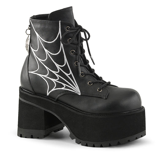 Demonia RAN105/BVL Drag Boots by Pleaser, available to buy at The Drag Room