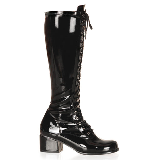 Funtasma RET302/B Drag Boots by Pleaser, available to buy at The Drag Room