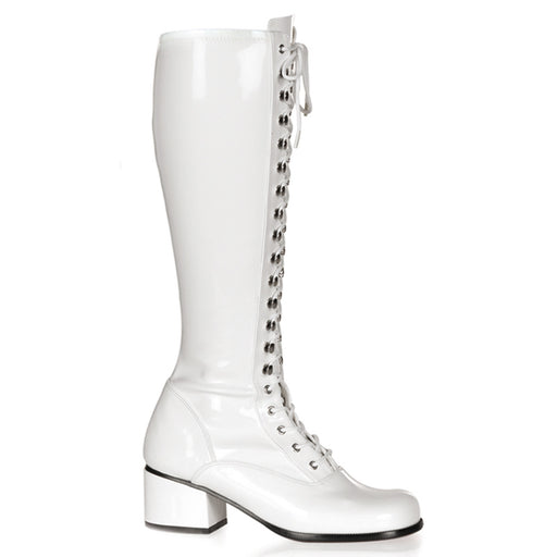 Funtasma RET302/W Drag Boots by Pleaser, available to buy at The Drag Room