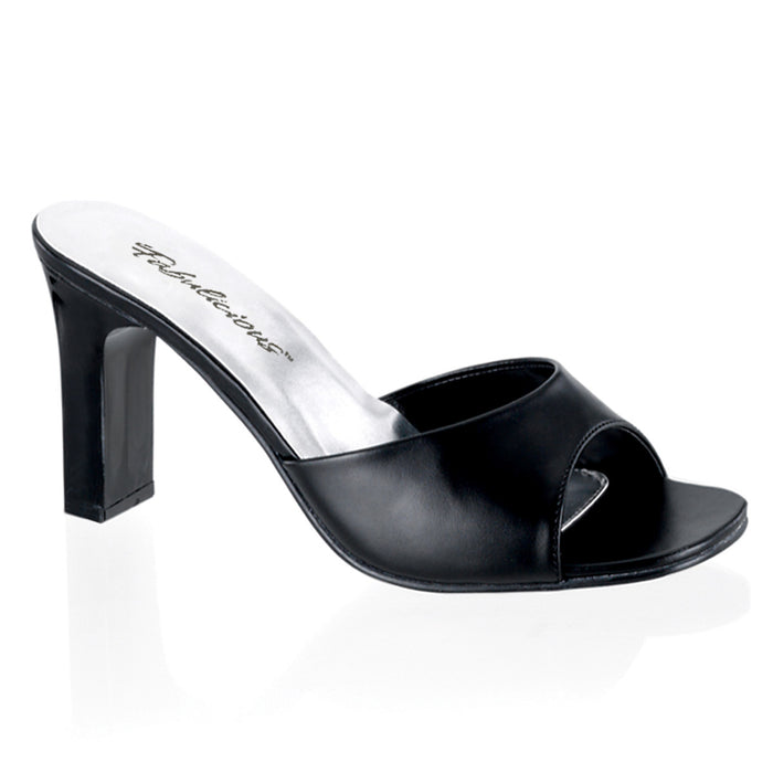 Fabulicious ROM301-2/B/PU Drag Shoes by Pleaser, available to buy at The Drag Room