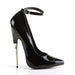 Devious SCR12/B Drag Footwear by Pleaser, available to buy at The Drag Room