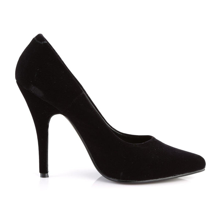 Pleaser SED420/B/VEL Drag Footwear by Pleaser, available to buy at The Drag Room