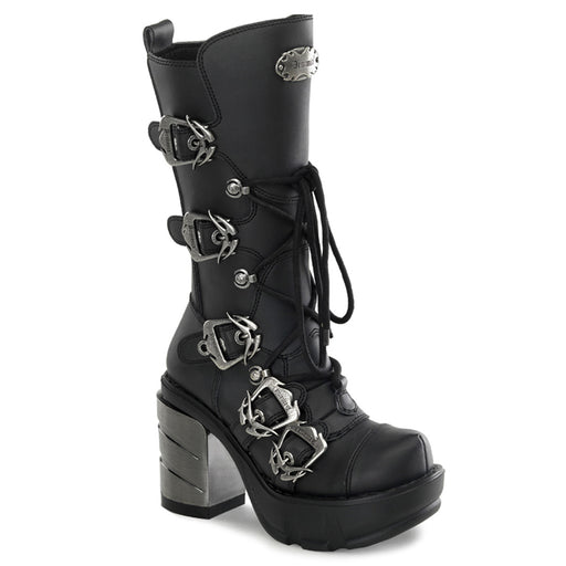 Demonia SIN203/BPU Drag Boots by Pleaser, available to buy at The Drag Room