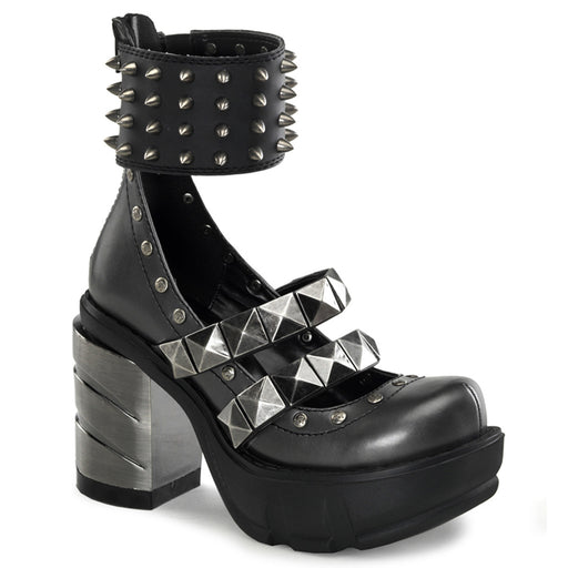Demonia SIN62/DGY-BPU Drag Shoes by Pleaser, available to buy at The Drag Room