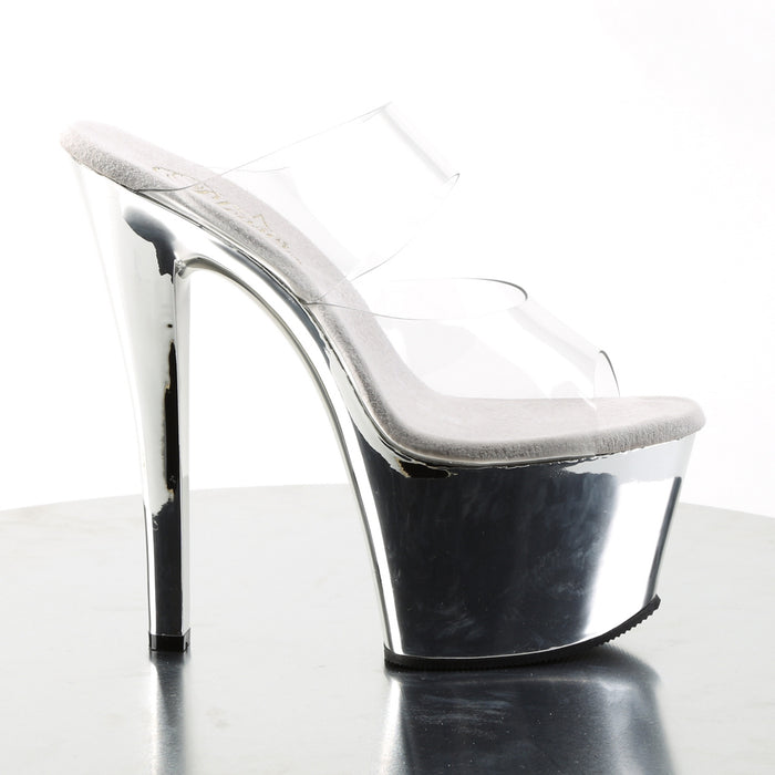 Pleaser SKY302/C/SCH Drag Platform Shoes by Pleaser, available to buy at The Drag Room