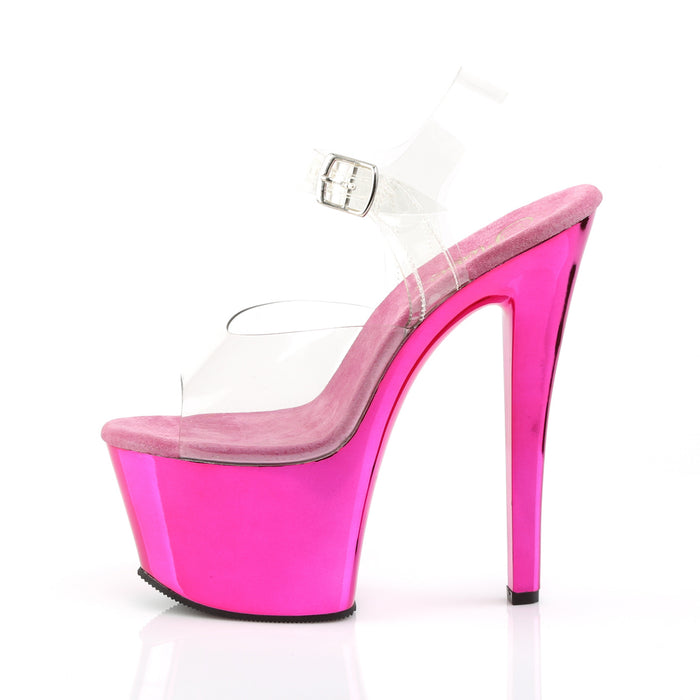 Pleaser SKY308/C/HPCH Drag Platform Shoes by Pleaser, available to buy at The Drag Room