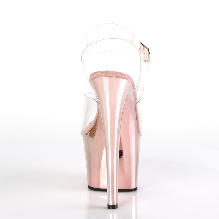 Pleaser SKY308/C/ROGLDCH Drag Platform Shoes by Pleaser, available to buy at The Drag Room