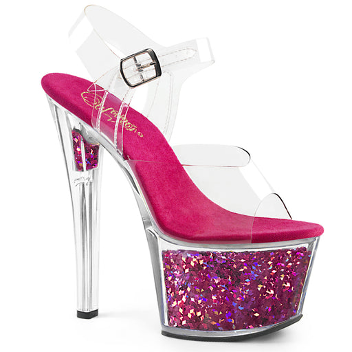 Pleaser SKY308GF/C/FSG Drag Platform Shoes by Pleaser, available at The Drag Room