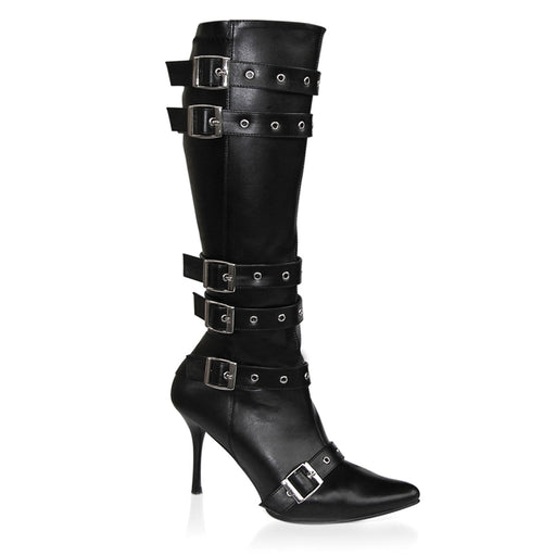 Funtasma SPICY138/B/PU Drag Boots by Pleaser, available to buy at The Drag Room