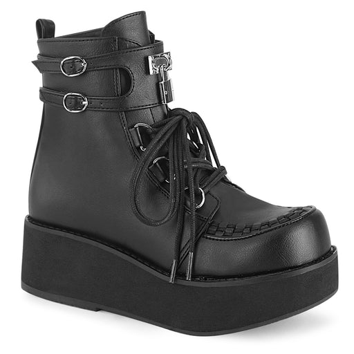 Demonia SPR70/BVL Drag Boots by Pleaser, available to buy at The Drag Room