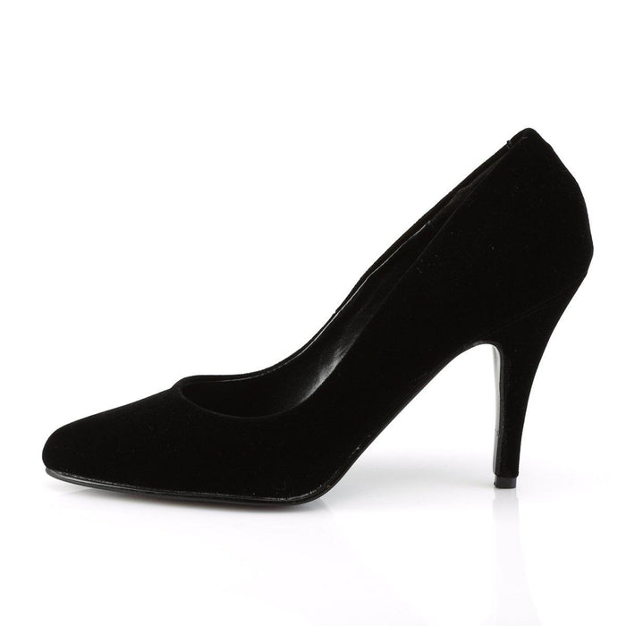 Pleaser VAN420/B/VEL Drag Footwear by Pleaser, available to buy at The Drag Room