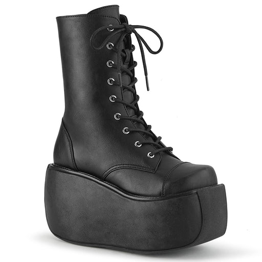 Demonia VIOLET120/BVL Drag Boots by Pleaser, available to buy at The Drag Room