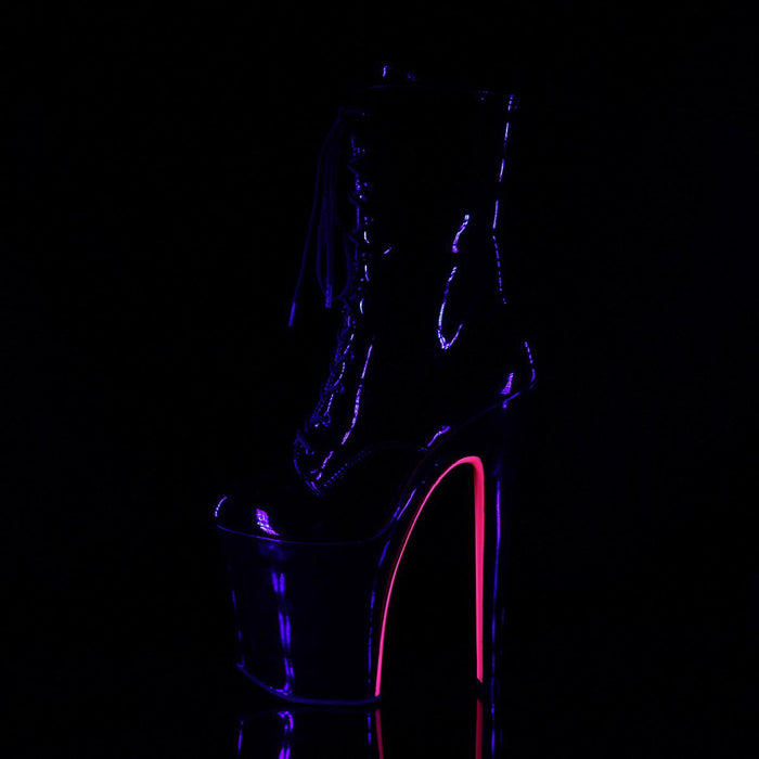 Pleaser XTM1020TT/B/B-NHP Drag Platform Shoes by Pleaser, available to buy at The Drag Room