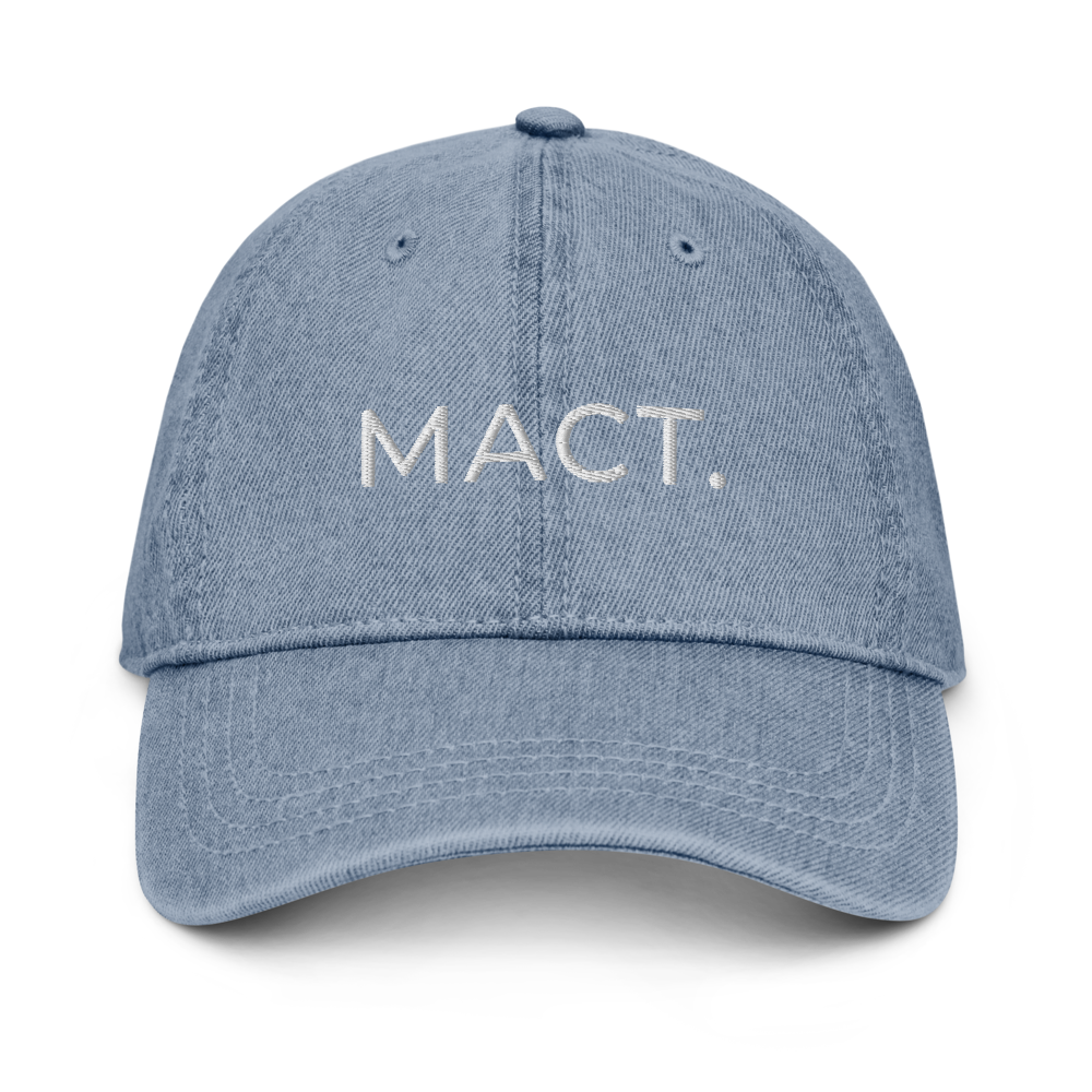 MACT. Denim Hat