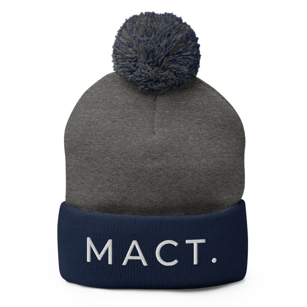 Original MACT. Pom-Pom Beanie (7 Colors)