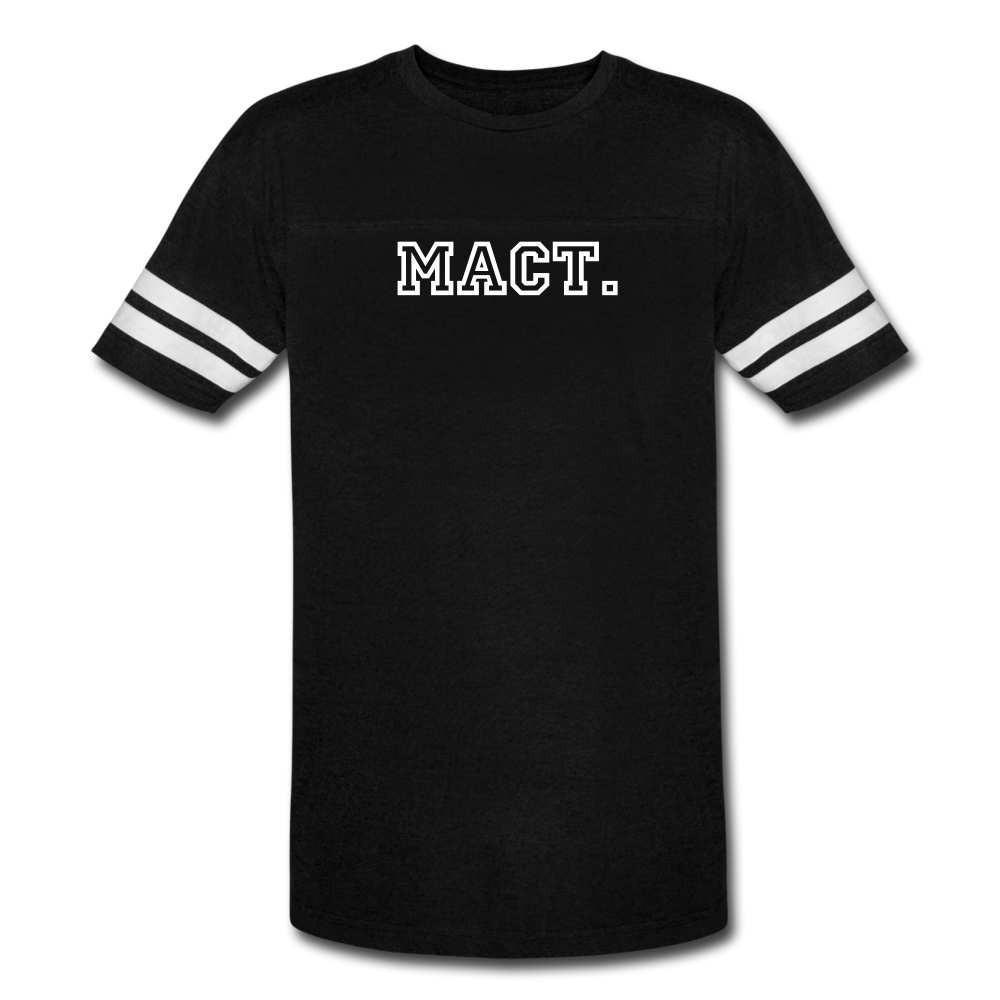 Men's Vintage Sport T-Shirt - black/white