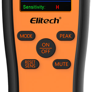Elitech IR-200 Infrared Heated Diode 2-in-1 Refrigerant Leak Detector Easy to Use
