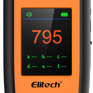 Elitech IR-200 Infrared Heated Diode 2-in-1 Refrigerant Leak Detector Heated Diode Mode