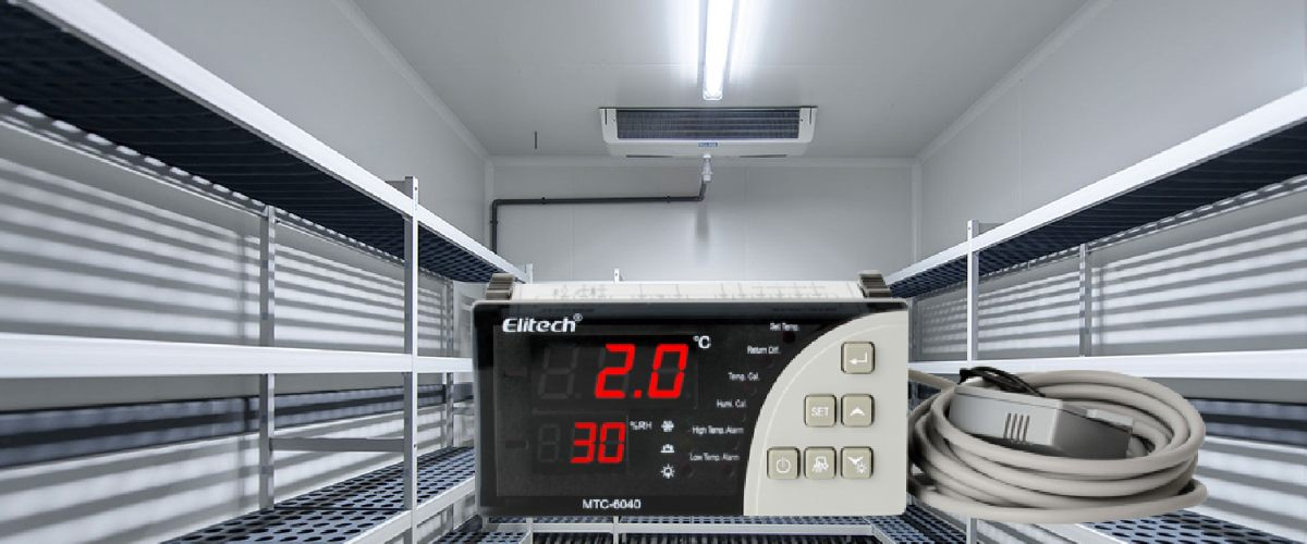 Elitech MTC-6040 Temperature and Humidity Controller