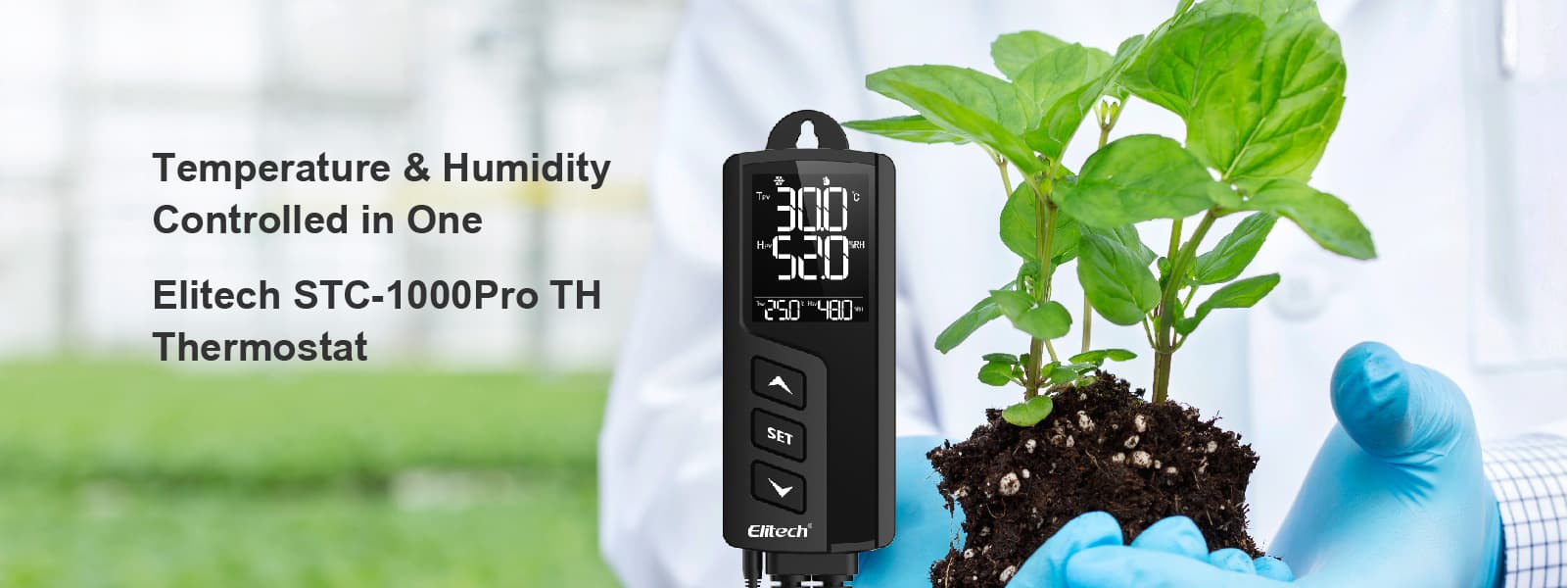Elitech STC-1000ProTH Temperature and Humidity Controller -Elitech UK