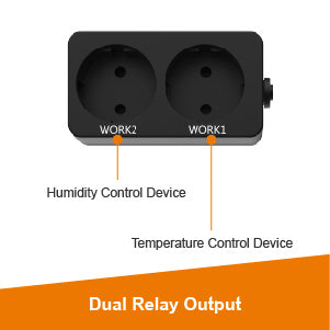 Elitech STC-1000Pro TH Temperature and Humidity Controller Dual Relay Output - Elitech UK