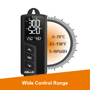 Elitech STC-1000Pro TH Temperature and Humidity Controller Wide Control Range - Elitech UK