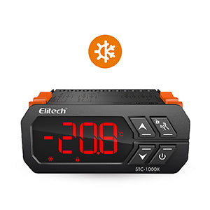 Elitech STC-1000X Thermostat Temperature Controller Automatic  cooling and heating switch-Elitech UK