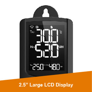 STC-1000WiFi TH Temperature and Humidity Controller Large Display - Elitech UK