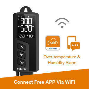 STC-1000WiFi TH Temperature and Humidity Controller Remote Monitoring,- Elitech UK