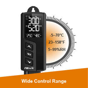 STC-1000WiFi TH Temperature and Humidity Controller Wide Control Range - Elitech UK
