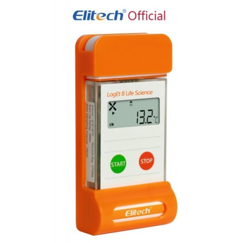 Elitech LogEt-8 Life Science Temperature Data Logger, Vaccine and Pharmaceutical Data Logger, Multi-Use Temperature Recorder for Vaccine and Pharmaceutical - ELITECH UK