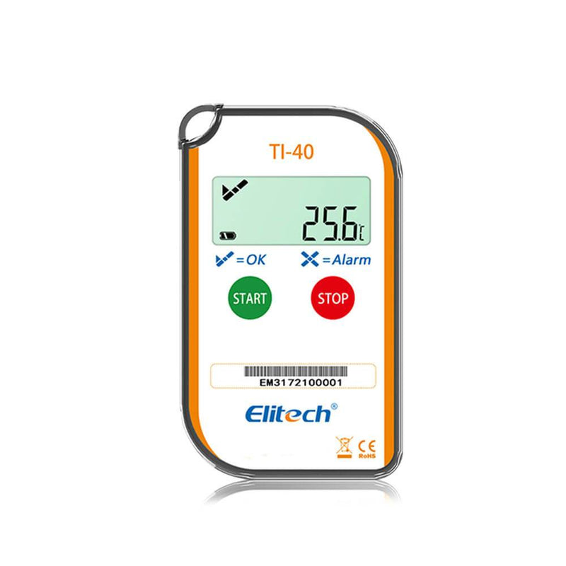 Elitech TI-40 Temperature Indicator Digital Cold Chain Temperature Label - ELITECH UK