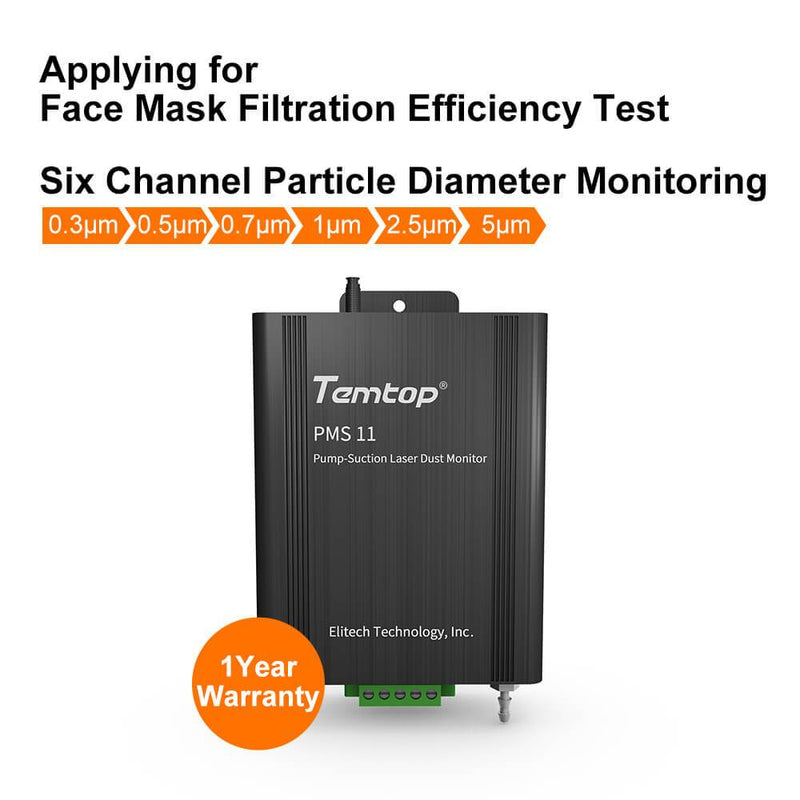 Temtop PMS-11 Embedded Particle Counter Multi Channel Particle Sensor - ELITECH UK