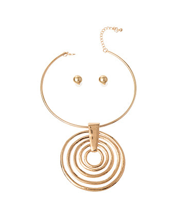 Concentric Circle Slide Choker Set