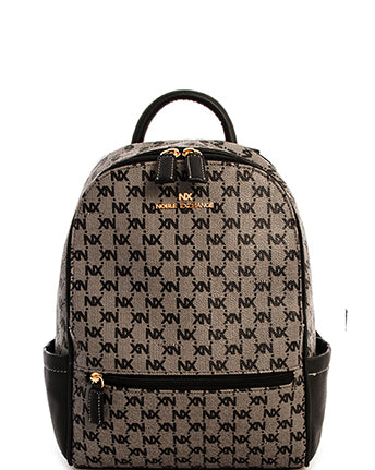 'NX' Print Backpack