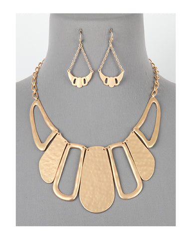 Linked Statement Necklace Set