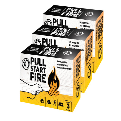 Pull String Fire Starter - 9-Pack - Off The Grid Collective