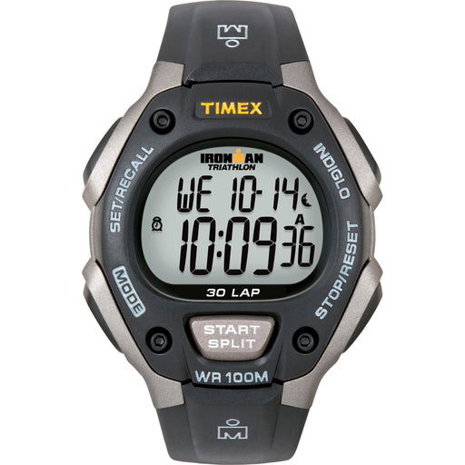 Timex Ironman Triathlon 30 Lap - Black/Silver [T5E901] - Off The Grid Collective