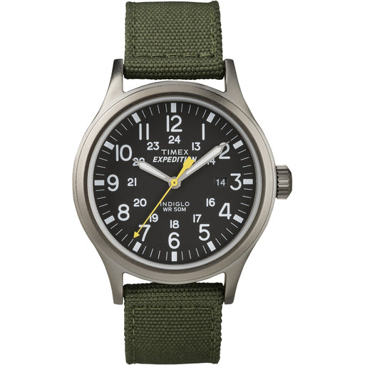 Timex Expedition Scout Metal Watch - Green/Black [T49961] - Off The Grid Collective