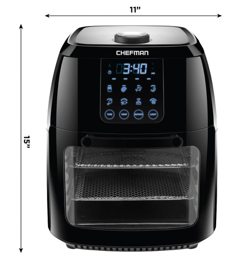 Chefman Multi-Function Air Fryer + Rotisserie, Dehydrator & Oven - Off The Grid Collective
