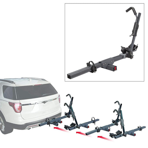 ROLA Convoy Modular Bike Carrier - Add-On Unit - Trailer Hitch Mount [59310] - Off The Grid Collective