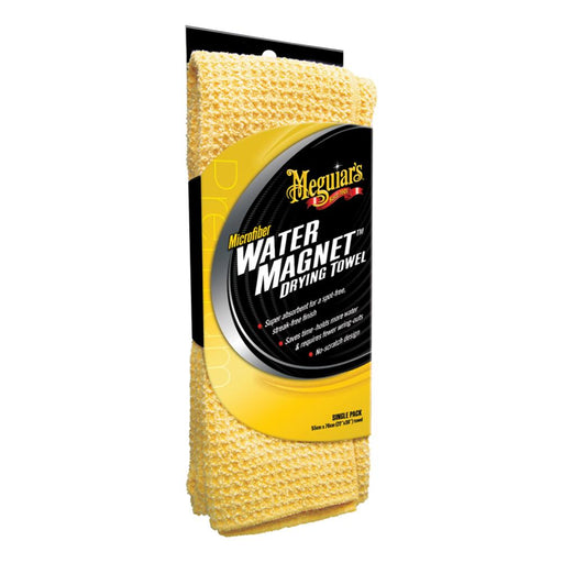 "Meguiars Water Magnet Microfiber Drying Towel - 22"" x 30"" [X2000] - Off The Grid Collective"