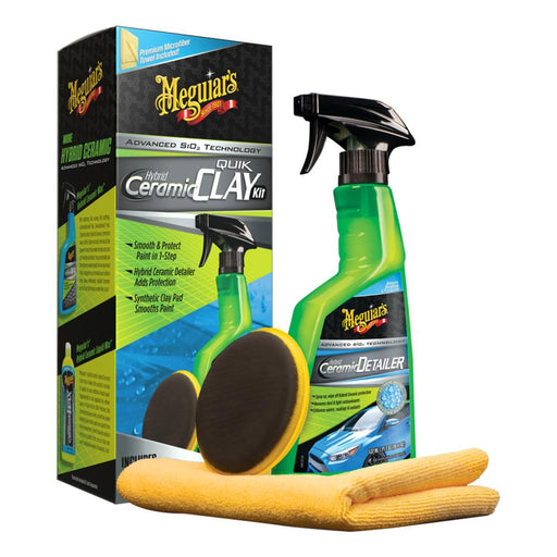 Meguiars Hybrid Ceramic Quik Clay Kit [G200200] - Off The Grid Collective