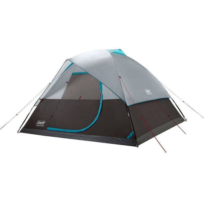 Coleman OneSource Rechargeable 6-Person Camping Dome Tent w/Airflow System  LED Lighting [2000035458] - Off The Grid Collective