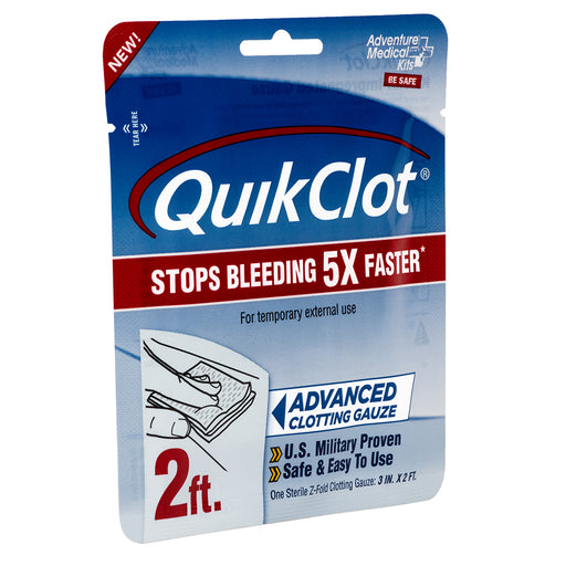 "Adventure Medical QuickClot Gauze 3"" x 2 [5020-0025] - Off The Grid Collective"