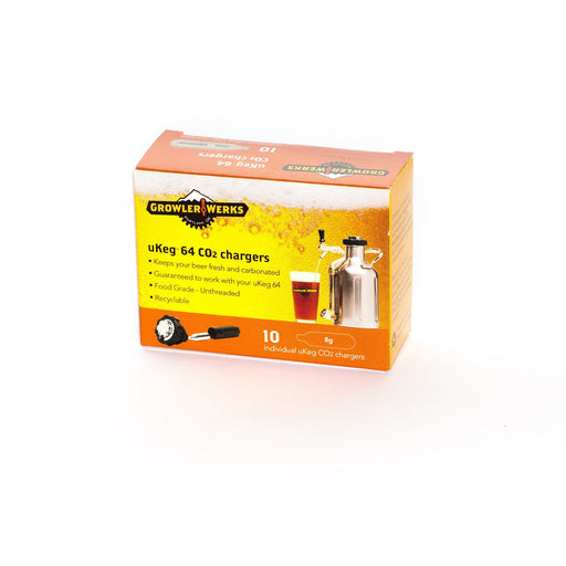 Growlerwerks 8 GRAM CO2 (PACK OF 10) - Off The Grid Collective