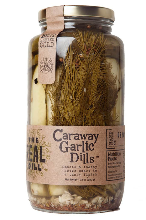 The Real Dill Caraway Garlic Dills - Go Glamp RV
